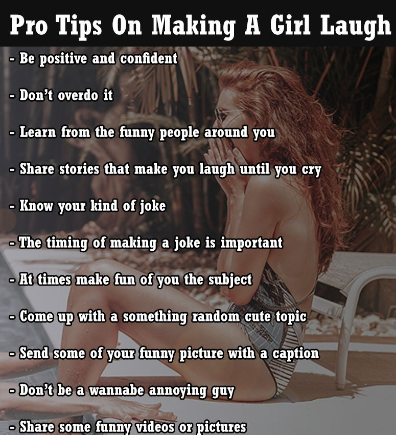What To Say To A Girl To Make Her Laugh Pro Steps Aedrio